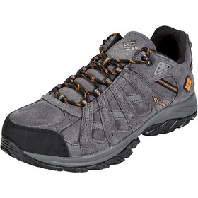 Columbia Canyon Point Leather Omni-Tech Chaussures Homme, dark grey/bright copper
